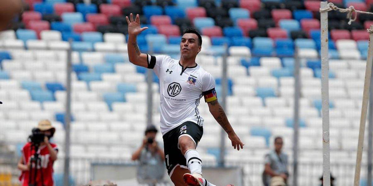 Colo Colo comenzó la defensa del título con una victoria ante Deportes Antofagasta gracias al doblete de Esteban Paredes