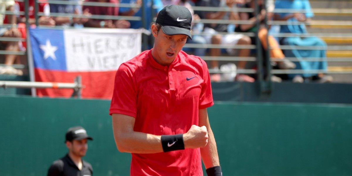 Jarry saca fama de copero y deja a Chile en la final americana de la Davis