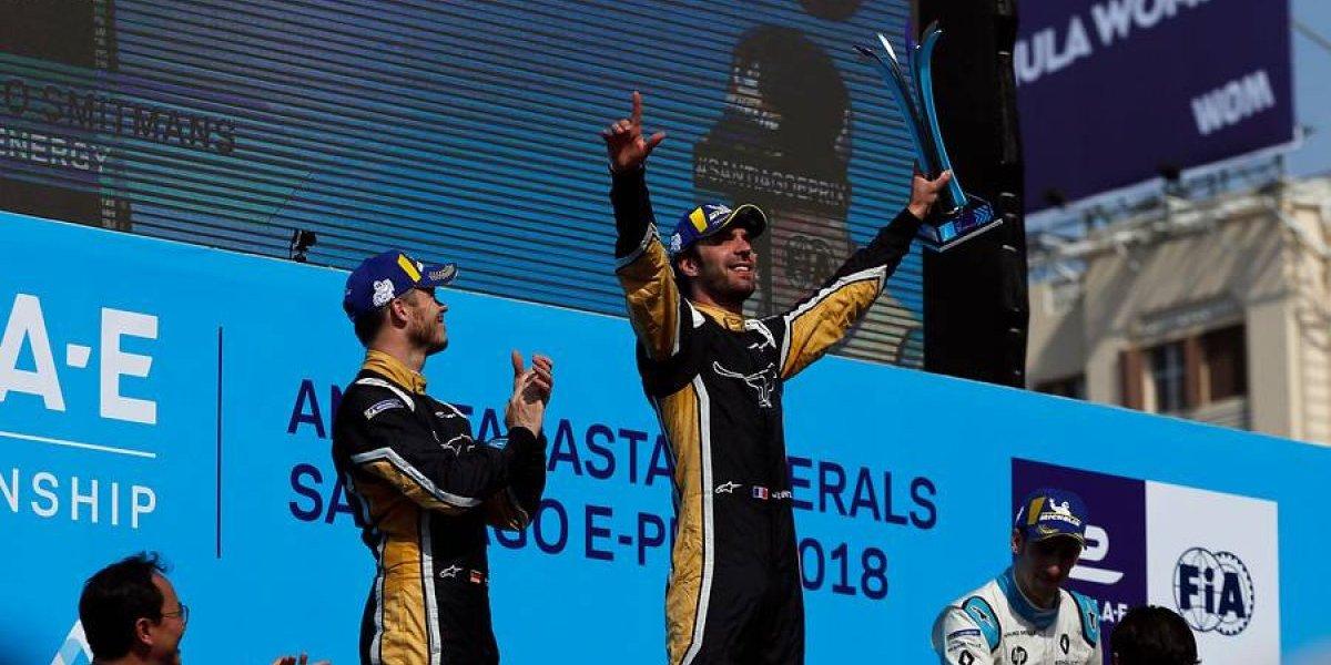 Se acabó la Fórmula E en Chile: Jean-Eric Vergne es el gran ganador del e Prix de Santiago