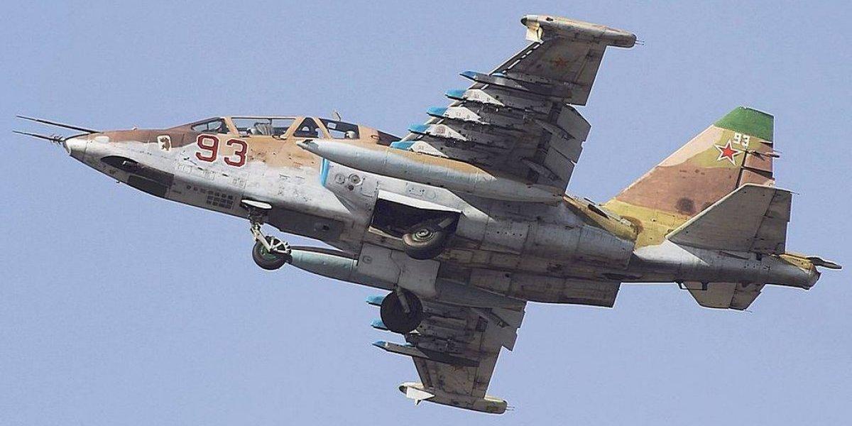Cruento final de un vuelo en zona de guerra: caza ruso es derribado y el piloto ejecutado en tierra