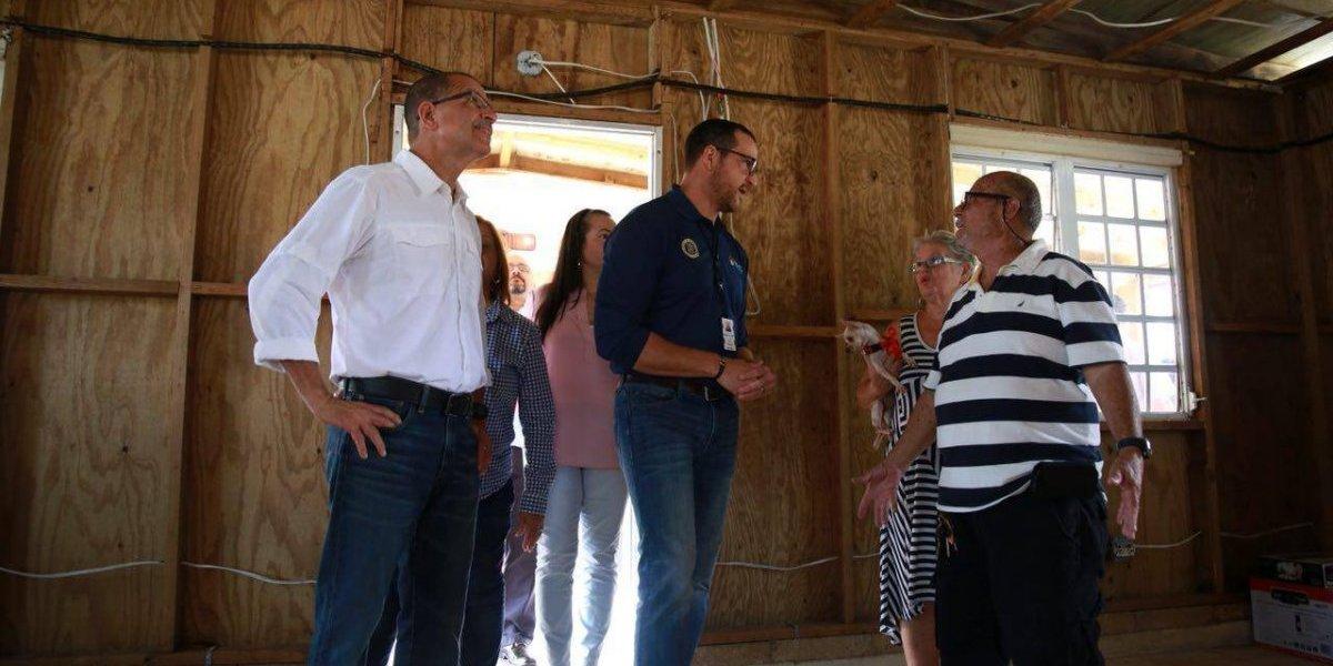 Comienza entrega de viviendas rehabilitadas a damnificados por el huracán María