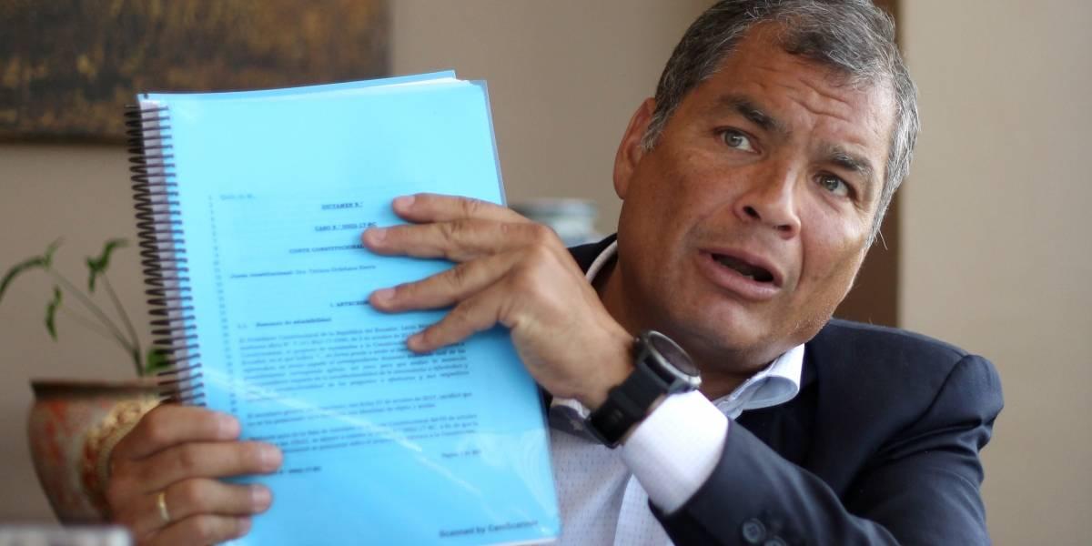 Rafael Correa anticipó victoria del No en el voto de migrantes
