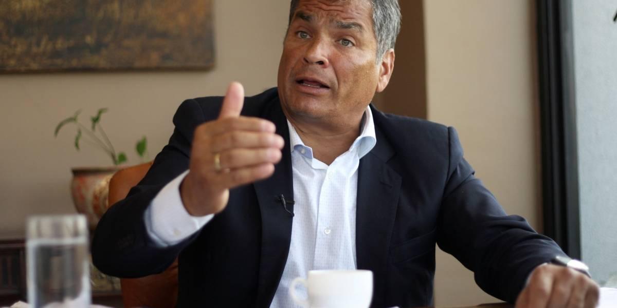 Rafael Correa rendirá dos declaraciones en la Fiscalía del Guayas