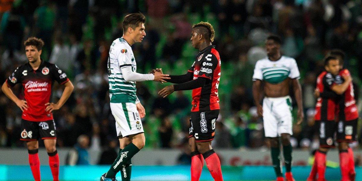 Xolos sigue invicto tras empate frente a Santos