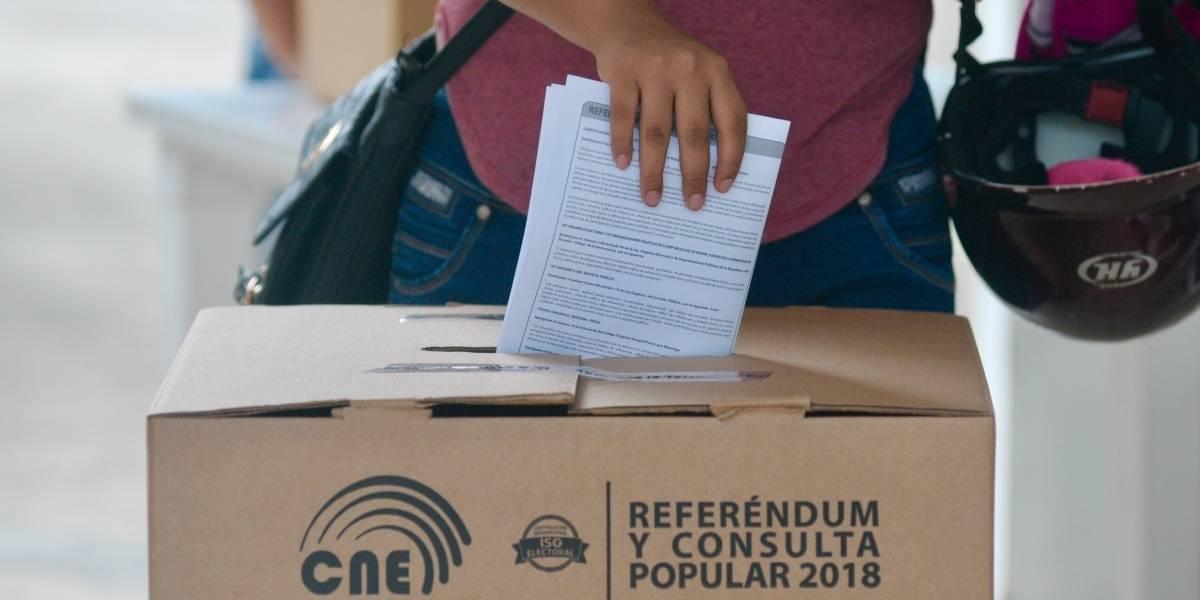 La Consulta Popular en San Lorenzo se desarrolla con normalidad