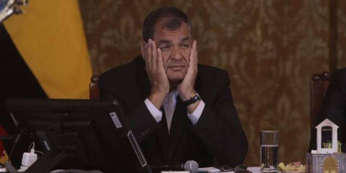 Rafael Correa no votará en Quito