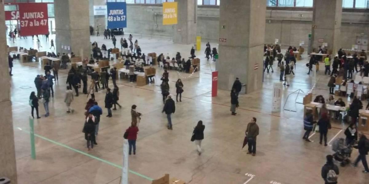 Acuden a votar 46.000 ecuatorianos en España pese a temporal de frío y nieve