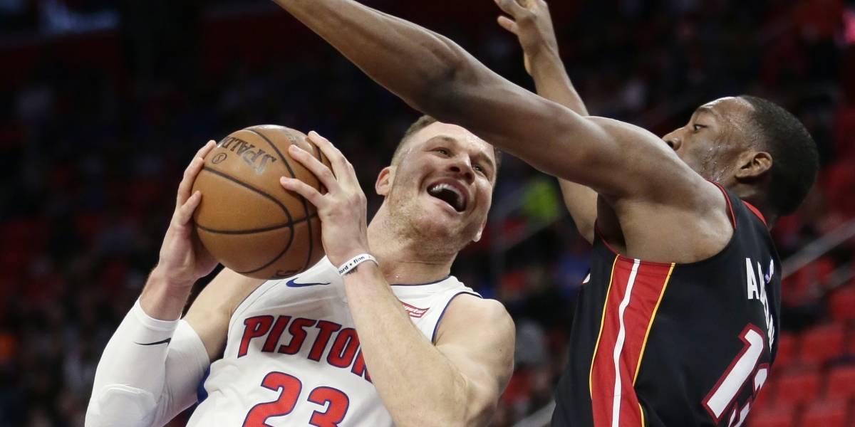 Pistons vuelven a ganar con Griffin