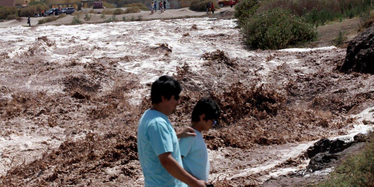 Evacuaciones y aluviones en la provincia de El Loa mantienen en alerta a las autoridades