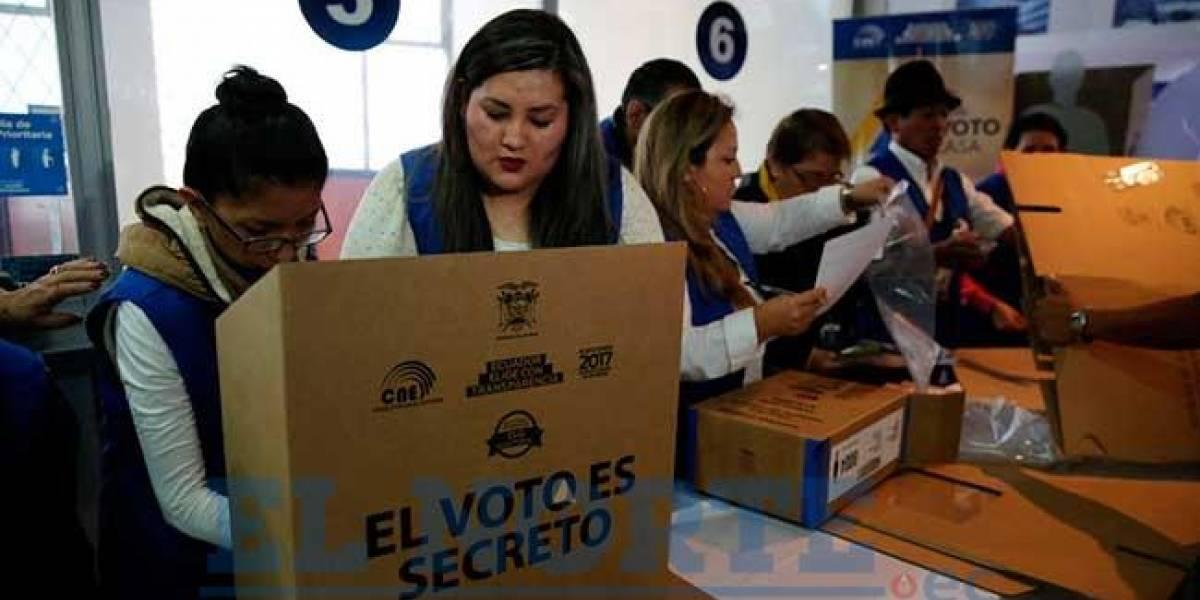 Normalidad en proceso electoral de ecuatorianos en el extranjero