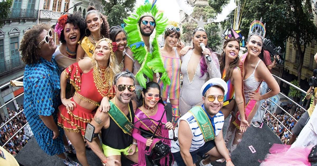 Bloco da Preta Foto: Felipe Panfili / Divulgação