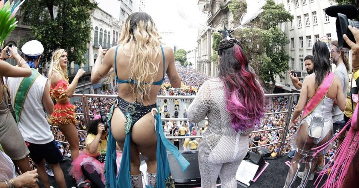 Preta Gil se apresentou ao lado de Pabllo Vittar Foto: Felipe Panfili / Divulgação
