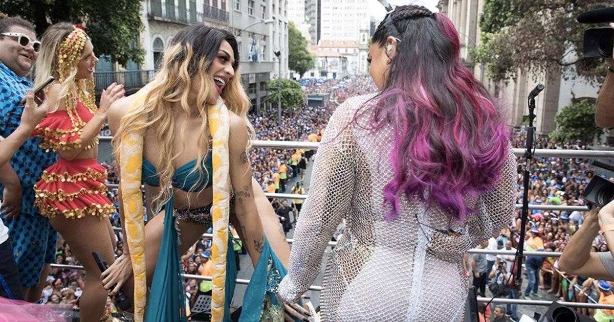 Pabllo Vittar sensualizou Foto: Felipe Panfili / Divulgação