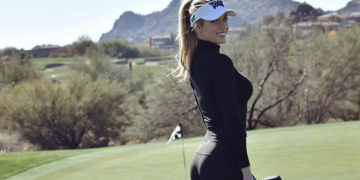 La golfista más sexy del mundo es amenazada de muerte por participar en torneo de Dubái