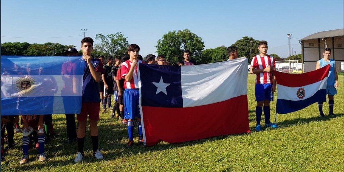 El emotivo homenaje que se vivió en el inicio del torneo en que participarían los niños de la escuela de Colo Colo Lo Boza