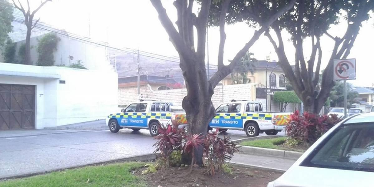 Calles cerradas en Guayaquil por el proceso electoral