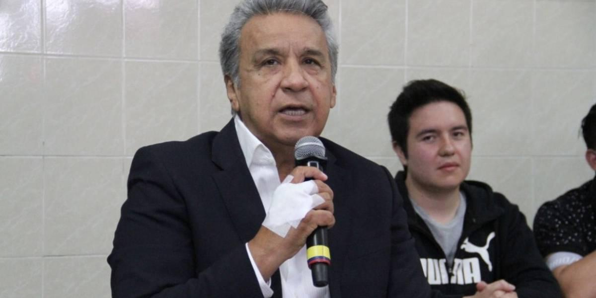 """Moreno se apega a los """"principios"""" pero cree que Ecuador debe evolucionar"""