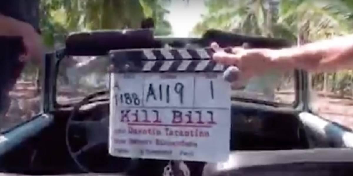 La escena con la Uma Thurman acusa a Tarantino de poner en riesgo su vida