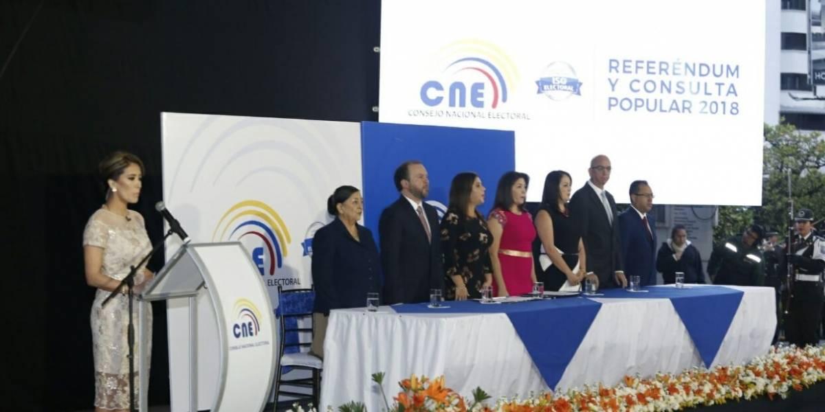 Se realiza ceremonia inaugural del Referéndum y Consulta Popular