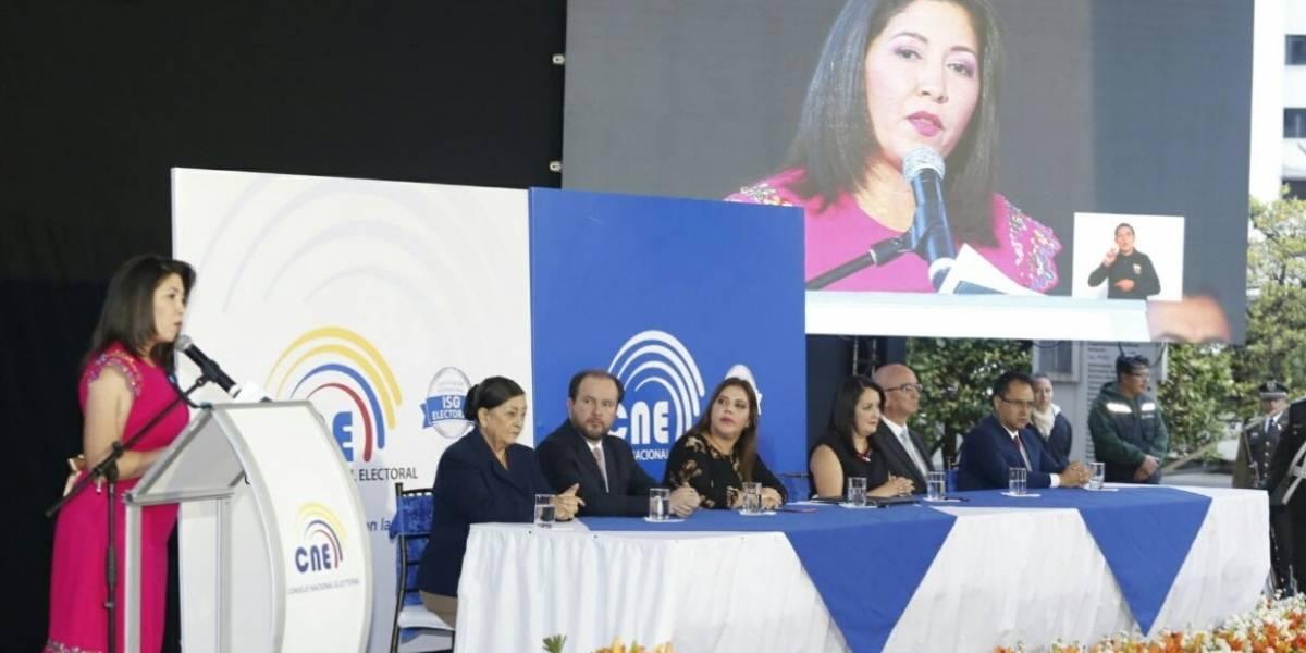 Nubia Villacís dice que la consulta es una herramienta para fortalecer la democracia