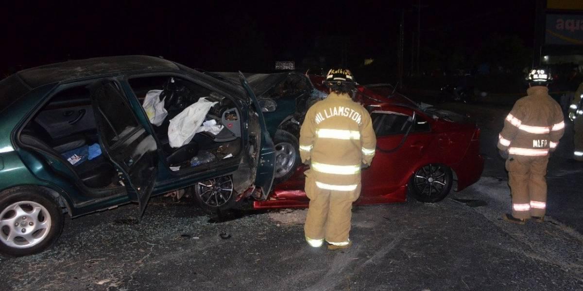 Hombre muere en accidente en la ruta al Pacífico