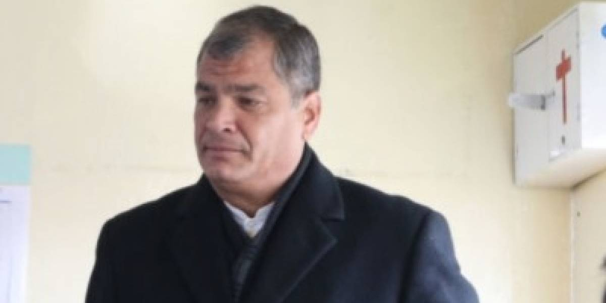 Rafael Correa: Yo no voy a poder regresar a mi patria, voy a ser perseguido