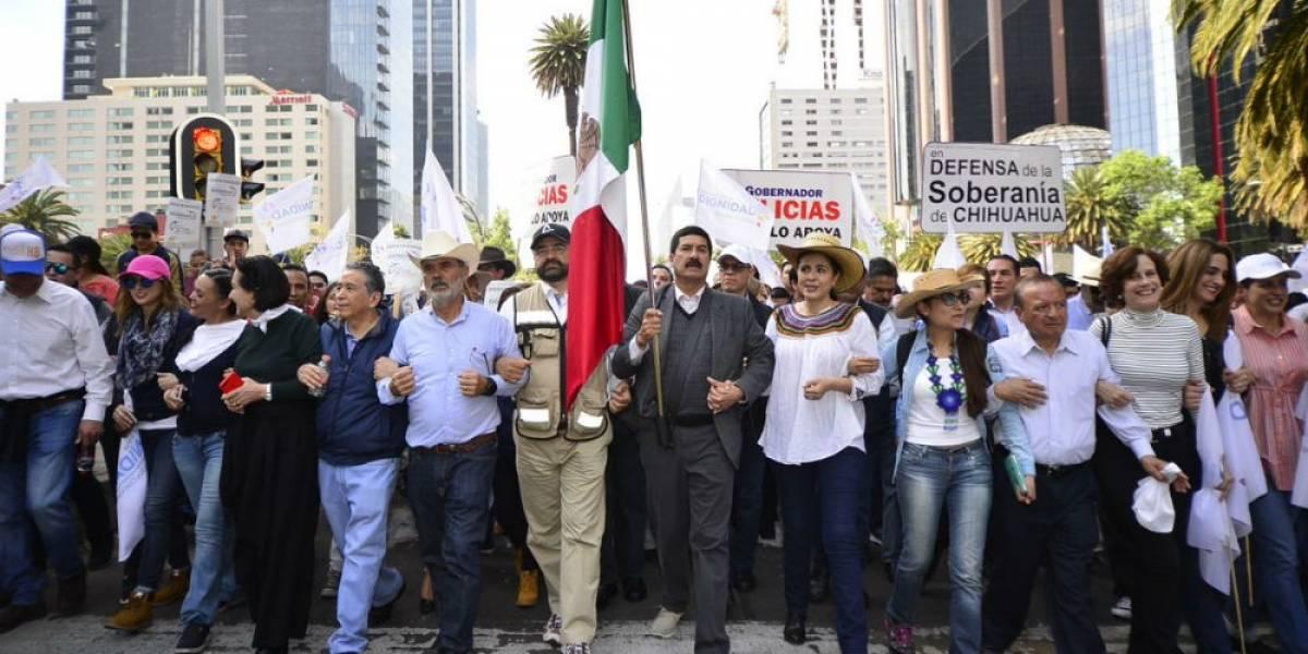 Caravana por la Dignidad de Chihuahua concluye con acuerdos