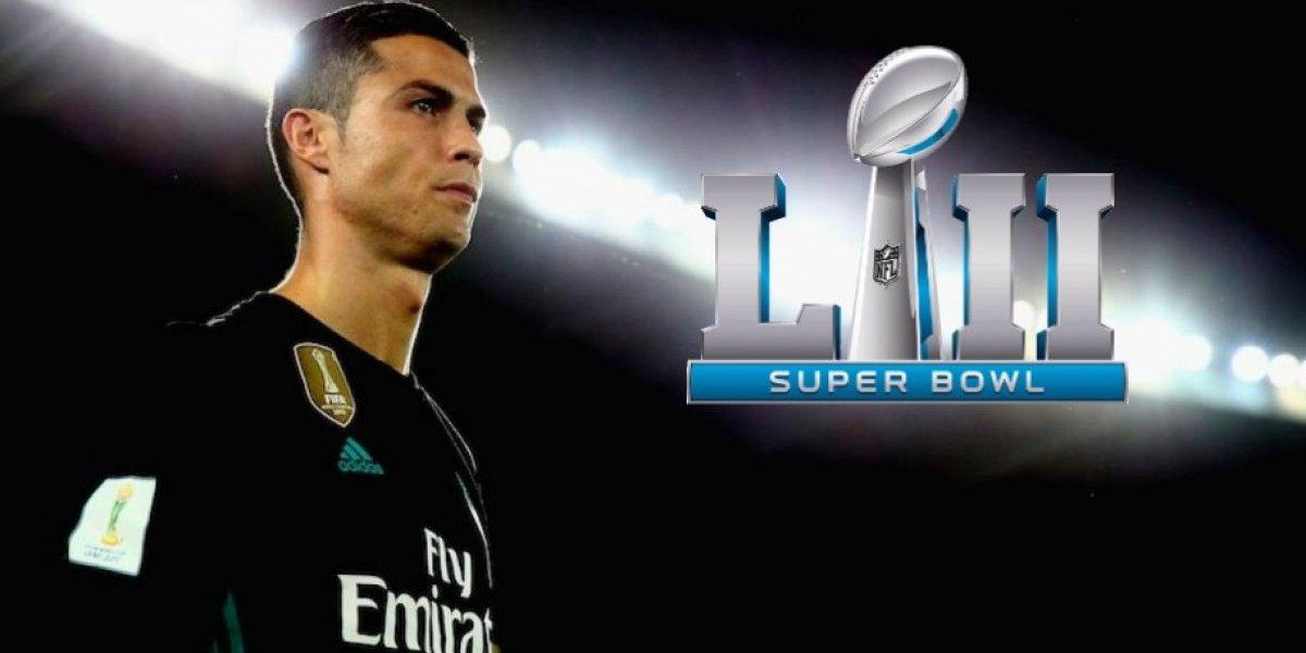 Cristiano Ronaldo se alista para el Super Bowl LII