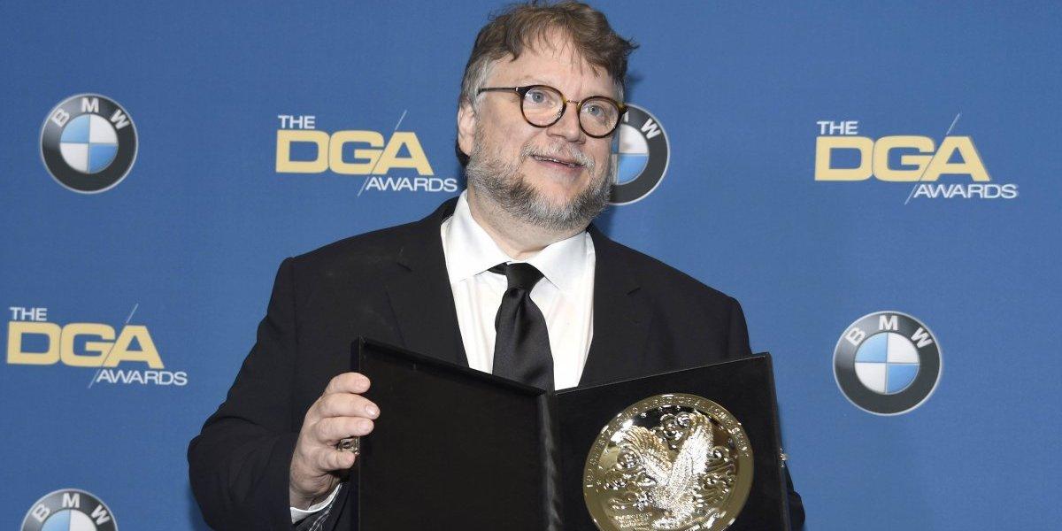 Sindicato de directores otorgó su máximo premio a Guillermo Del Toro
