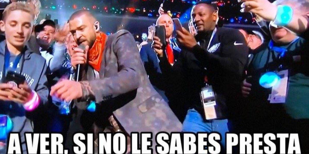 Los memes que dejó el show de Justin Timberlake en el SB