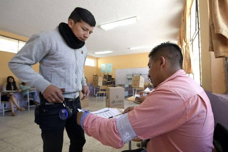 Votaciones en Ecuador