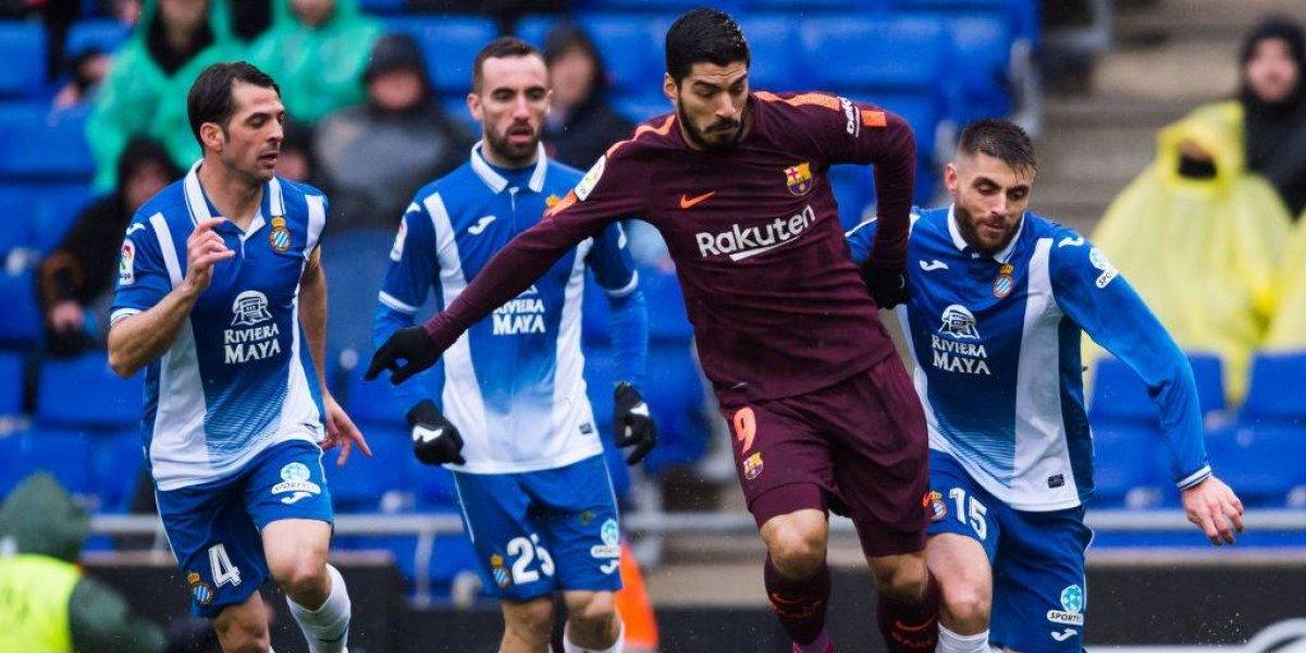 Se desinfló el puntero: Barcelona no pudo ante el Espanyol y solo rescató un empate en el Derby catalán