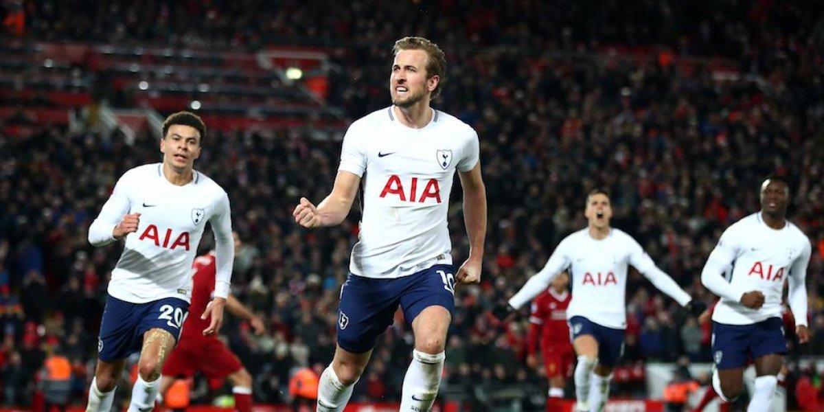 Kane rescata el empate para el Tottenham ante el Liverpool