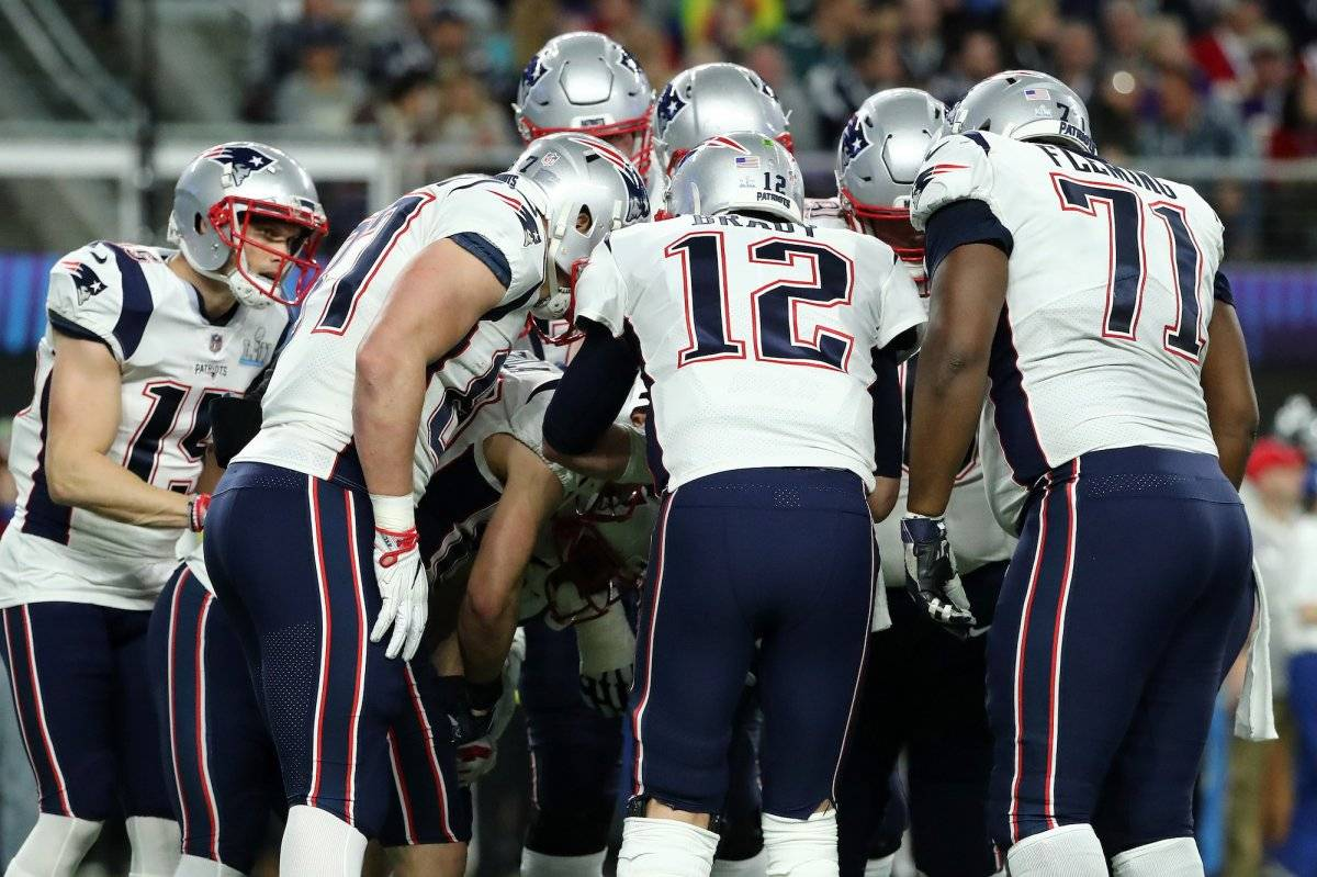 Pats vs Eagles, Super Bowl LII Getty Images