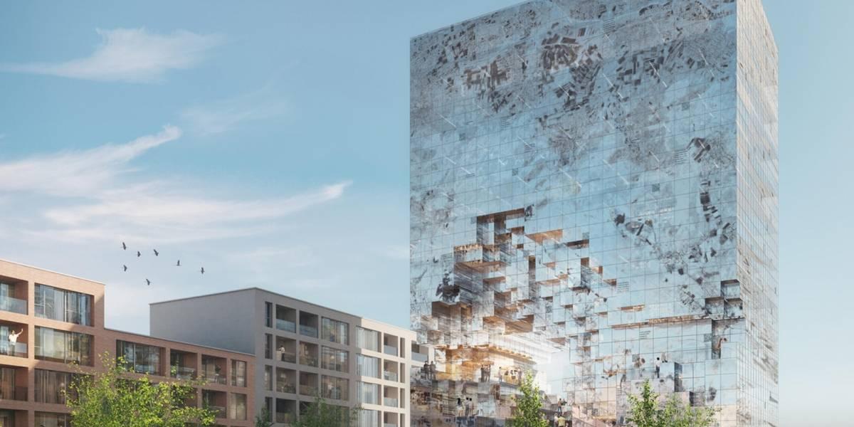 Edificio reflejante llegará a Alemania
