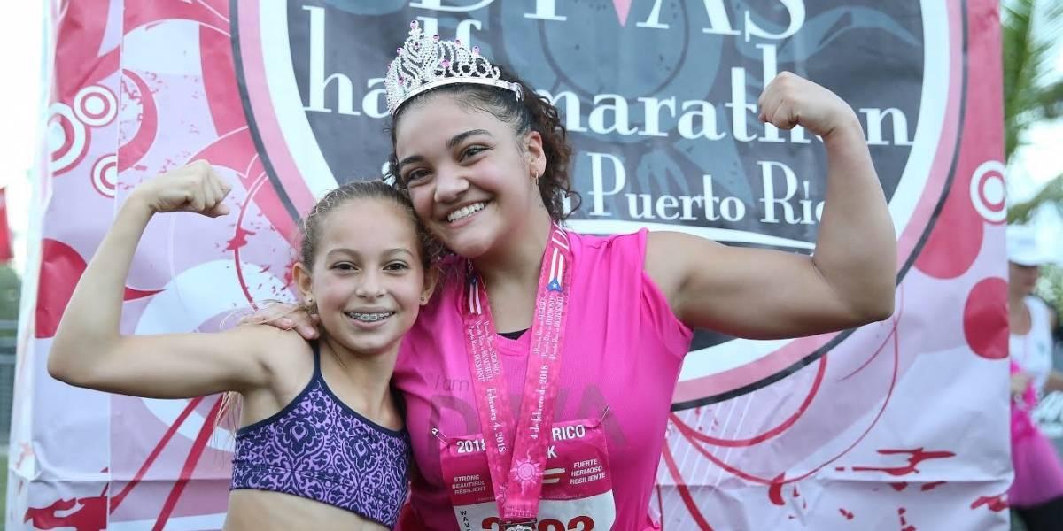 Medallista olímpica de ascendencia puertorriqueña participa del Medio Maratón Divas