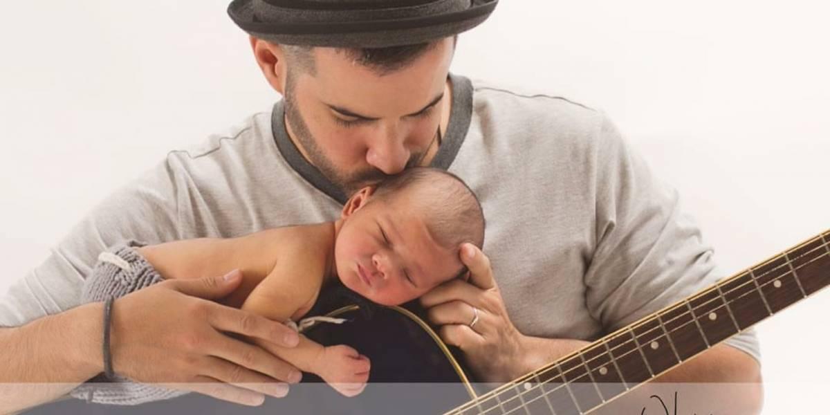 Manny Cruz muestra tierna foto de su hijo Mateo