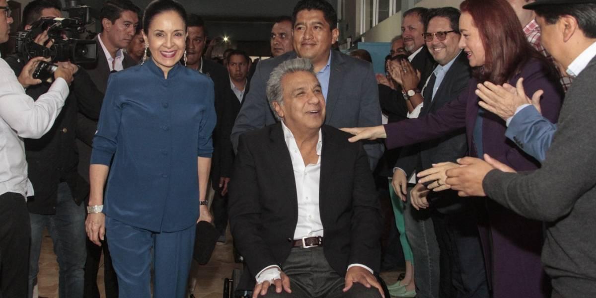 Lenín Moreno aseguró que respetará la decisión de ecuatorianos en las urnas