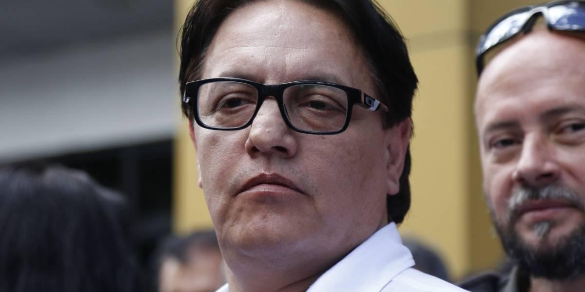 Fernando Villavicencio denuncia presunto peculado y espionaje en caso Assange