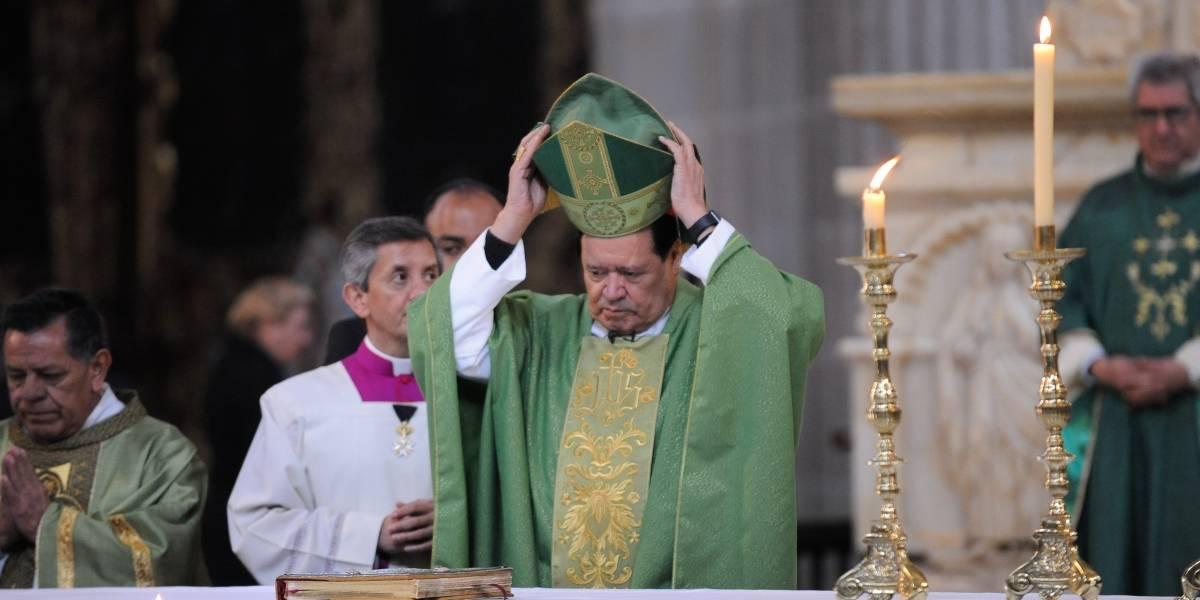 Norberto Rivera oficia su última misa como arzobispo primado de México