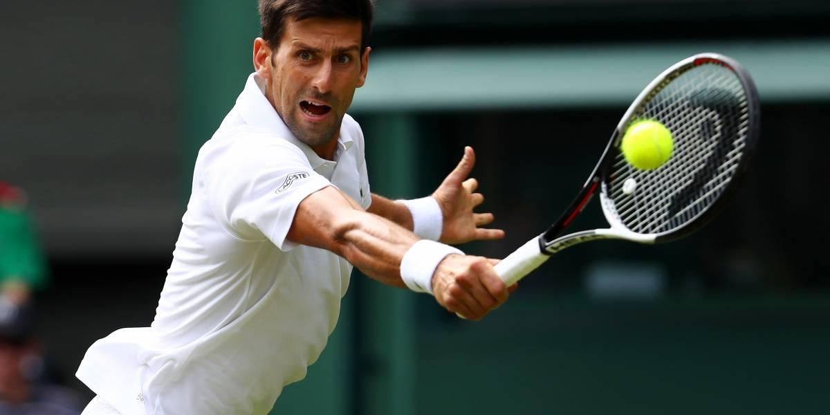 Tenista Novak Djokovic fue operado del codo