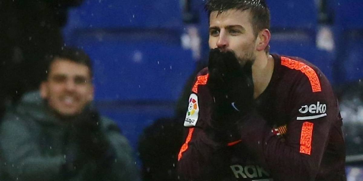 Piqué salvó el invicto del Barcelona