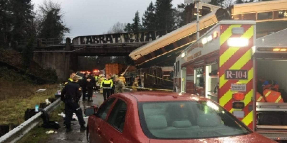 Choque de trenes deja al menos dos muertos en Carolina del Sur