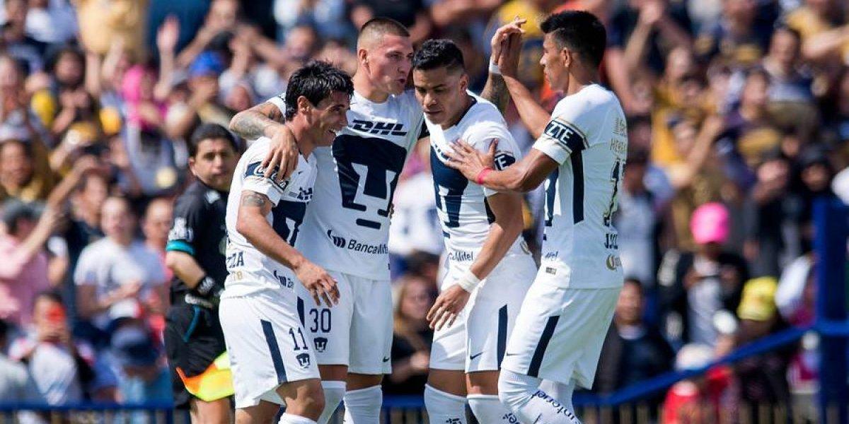 Marcelo Díaz y Nicolás Castillo son líderes en México tras victoria de Pumas ante Tigres