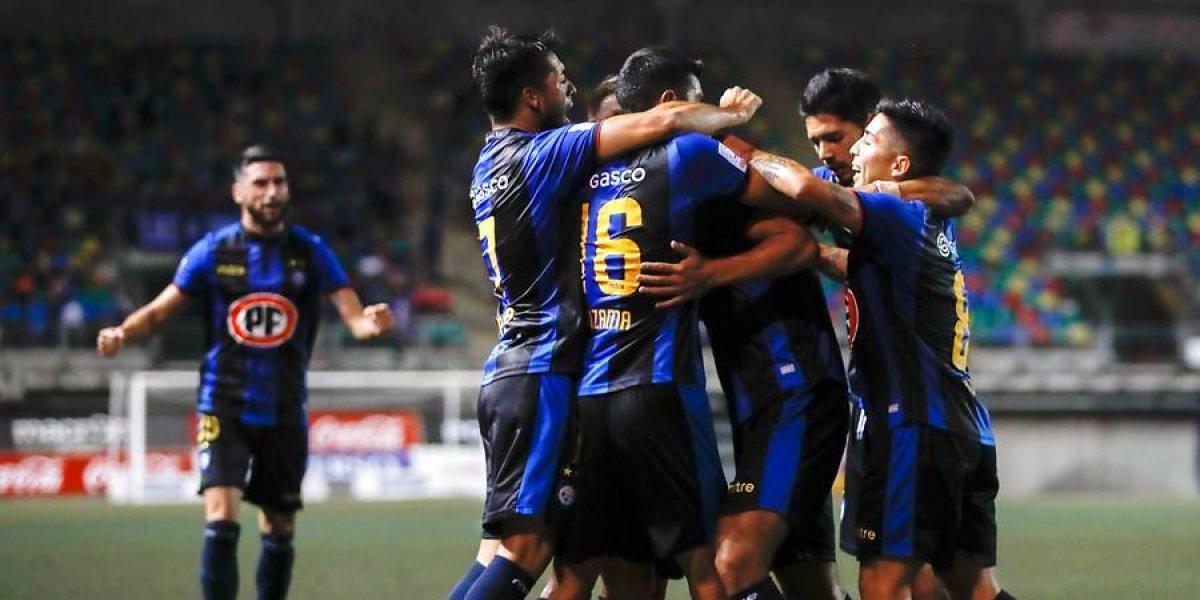 Huachipato goleó a Audax Italiano en una verdadera guerra de goles en La Florida