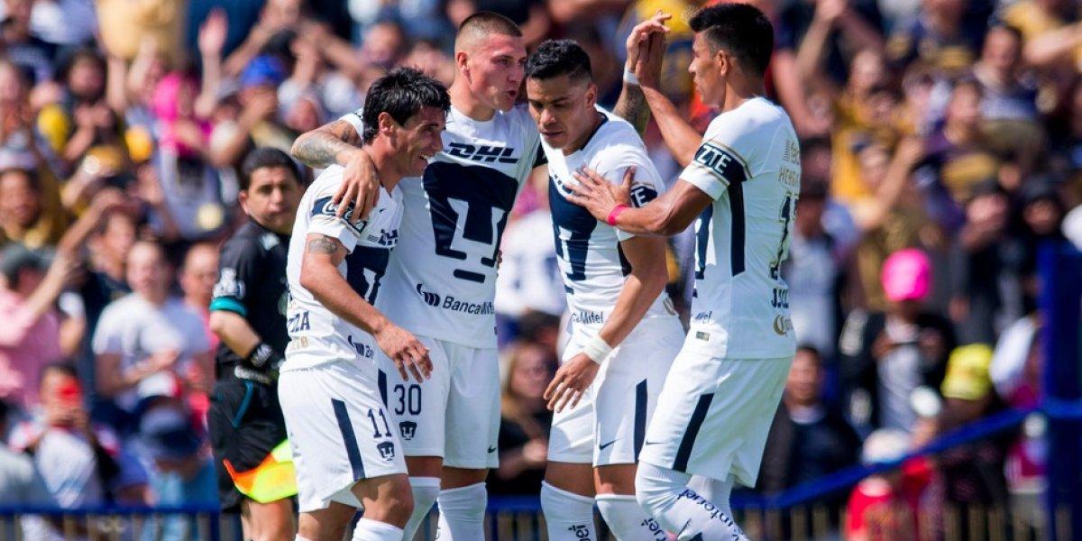 Pumas derrota al campeón y sigue invicto