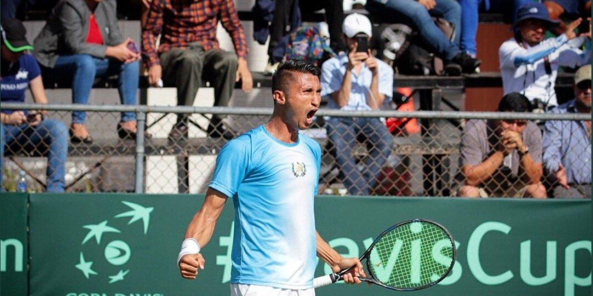 Guatemala sigue en la pelea luego de su empate ante Venezuela en la Copa Davis