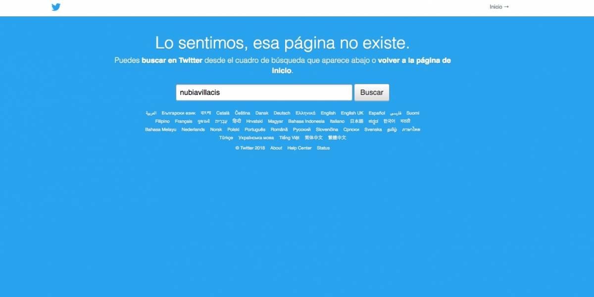 Cuenta de Nubia Villacís en Twitter está cerrada