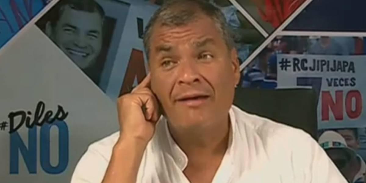 Rafael Correa: 'En el momento en que Lenín Moreno no les sirva, le darán una patada'