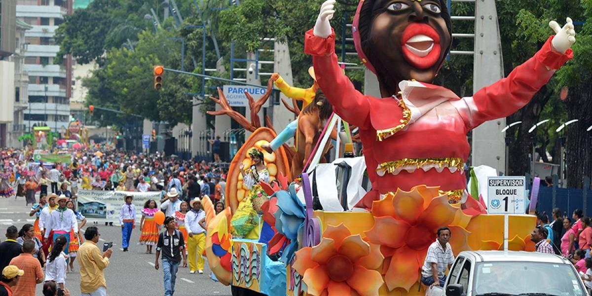 Guayaquil ya tiene agenda por Carnaval